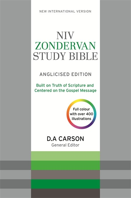 NIV Zondervan Study Bible (Anglicised) Bonded Leather (Bonded Leather)