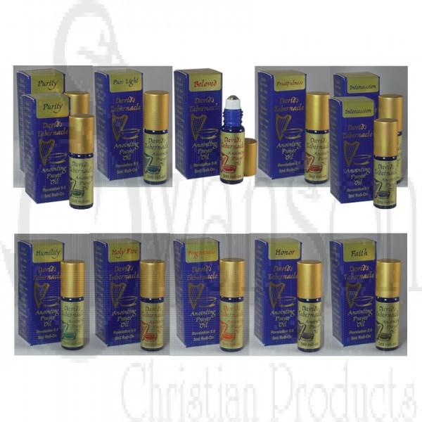 David's Tabernacle Oil Roll-On 12pc Assortment