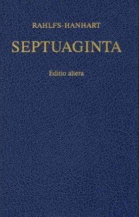 Ancient Greek Septuagint Revised 2nd Ed.