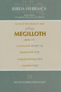 Hebrew Suttgartensia 5th Ed. Megilloth (Paperback)