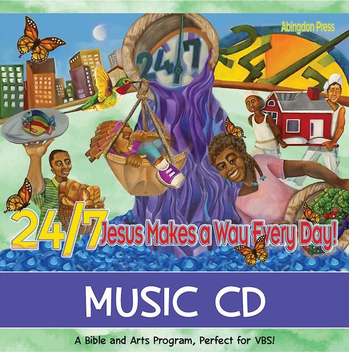 VBS 2018 24/7 Music CD (Mixed Media Product)