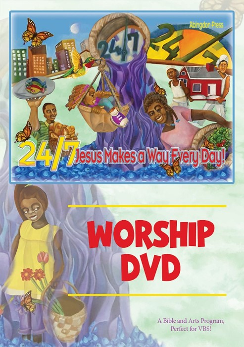 VBS 2018 24/7 Worship DVD (Mixed Media Product)
