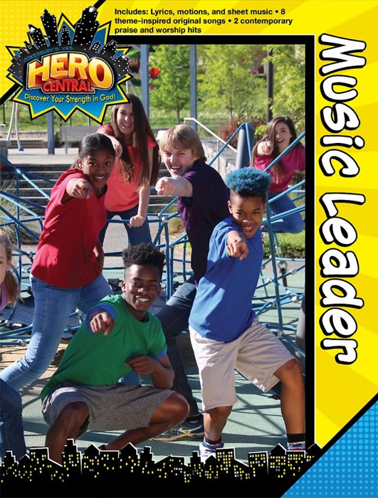 Vacation Bible School 2017 VBS Hero Central Music Leader (Paperback)