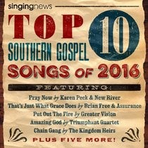 Top 10 Southern Gospel Songs Of 2016 (CD-Audio)