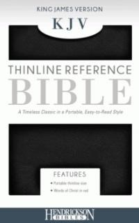 KJV Thinline Reference Bible (Leather Binding)
