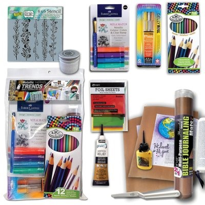 Metallic Trends Bible Journaling Kit (Kit)