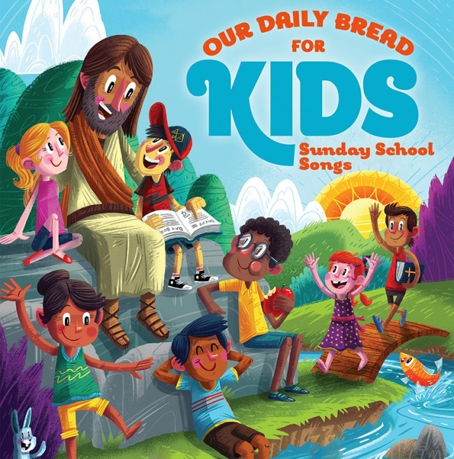 Our Daily Bread for Kids Sunday School Songs 2CD Set (CD- Audio)