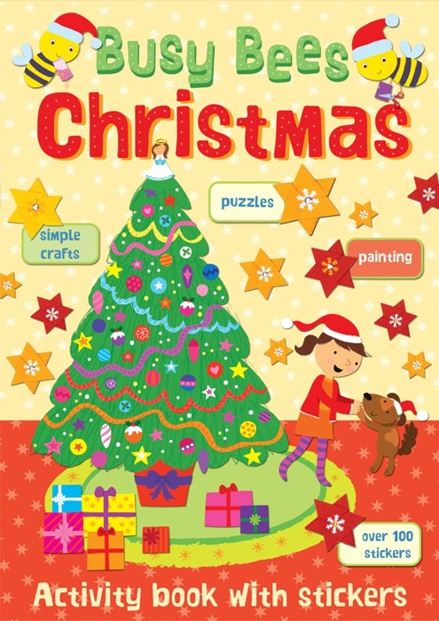 Busy Bees Christmas (Paperback)