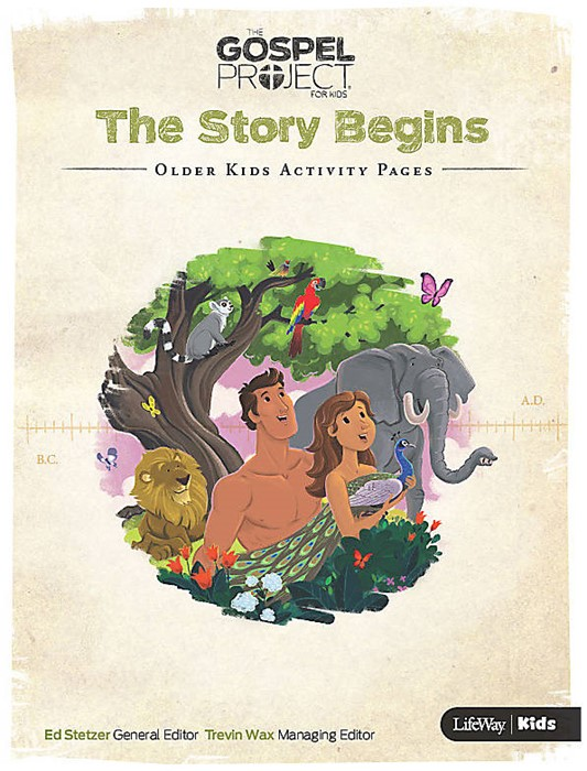 Story Begins, The: Older Kids Activity Pages (Paperback)