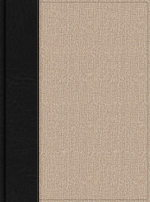 HSCB Apologetics Study Bible For Students, Black/Tan Cloth