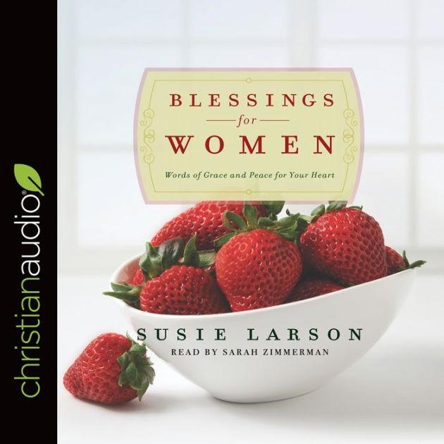 Blessings For Women Audio Book (CD-Audio)