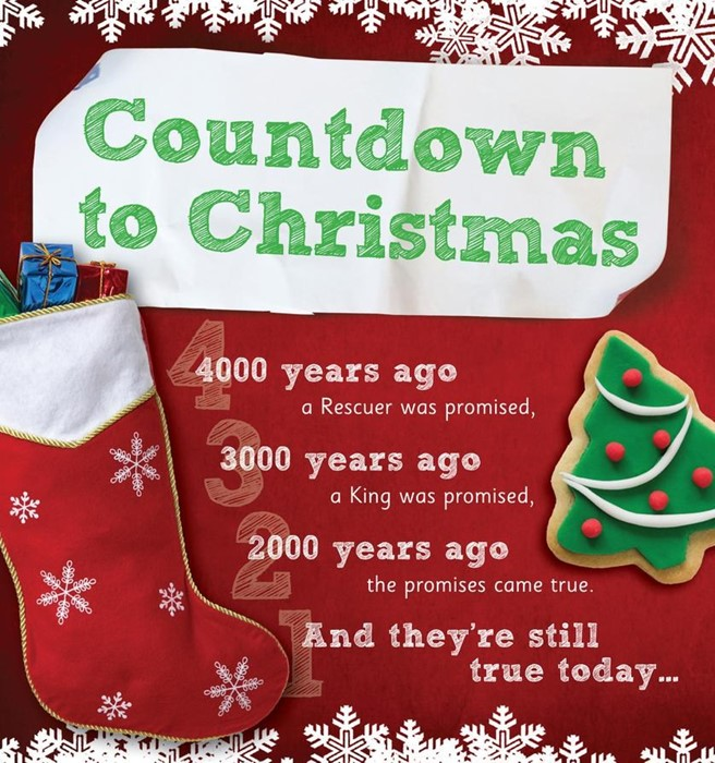 Countdown To Christmas (Tracts)