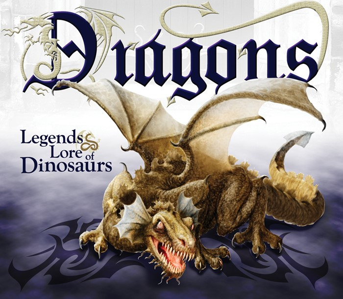 Dragons: Legends & Lore Of Dinosaurs (Hard Cover)