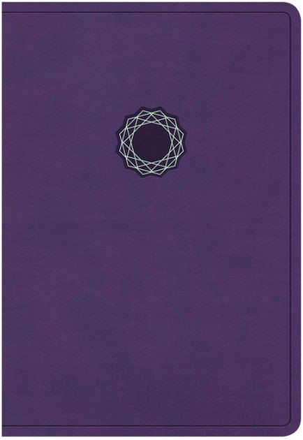 KJV Deluxe Gift Bible, Purple Leathertouch (Imitation Leather)