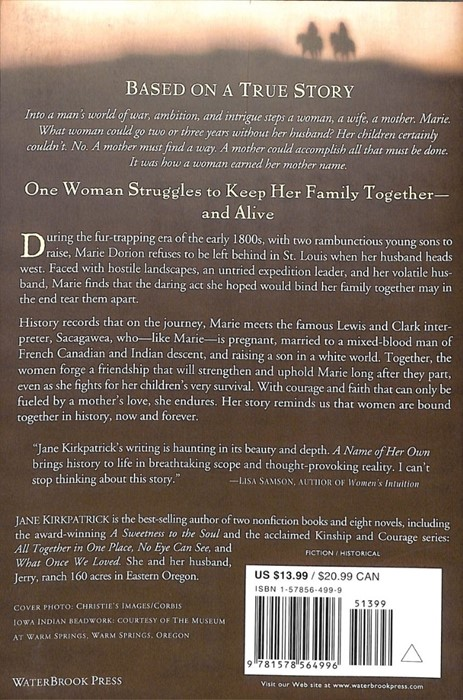 A Name Of Her Own (Paperback)