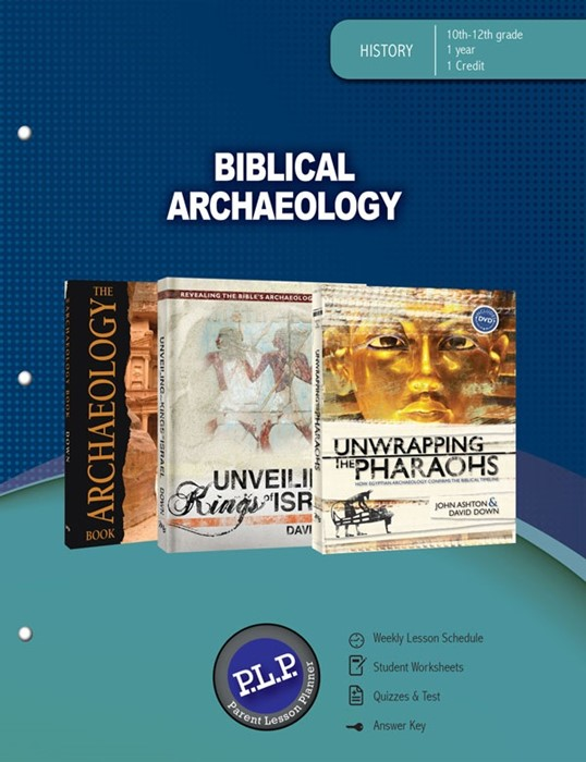 Biblical Archaeology Parent Lesson Planner (Paperback)