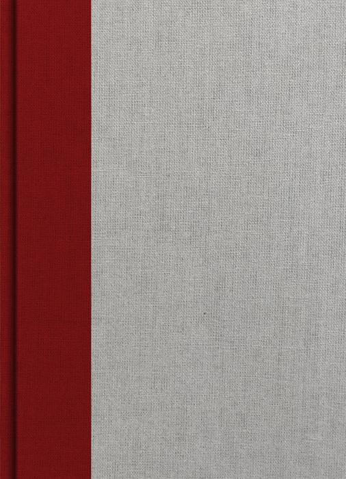 KJV Study Bible, Crimson/Gray Cloth Over Board, Indexed (Hard Cover)