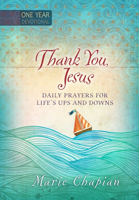 One Year Devotional: Thank You, Jesus (Hard Cover)