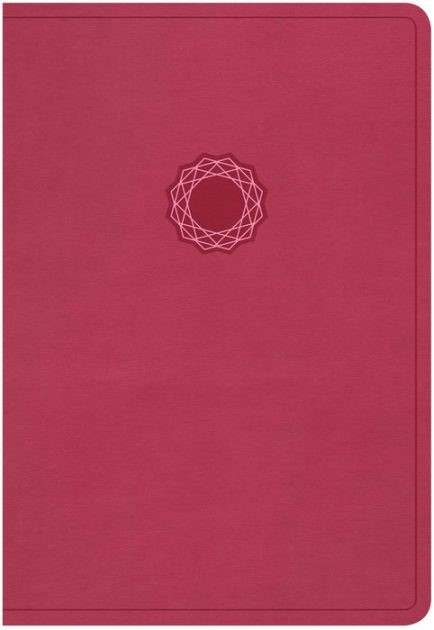 NKJV Deluxe Gift Bible, Pink Leathertouch (Leather Binding)