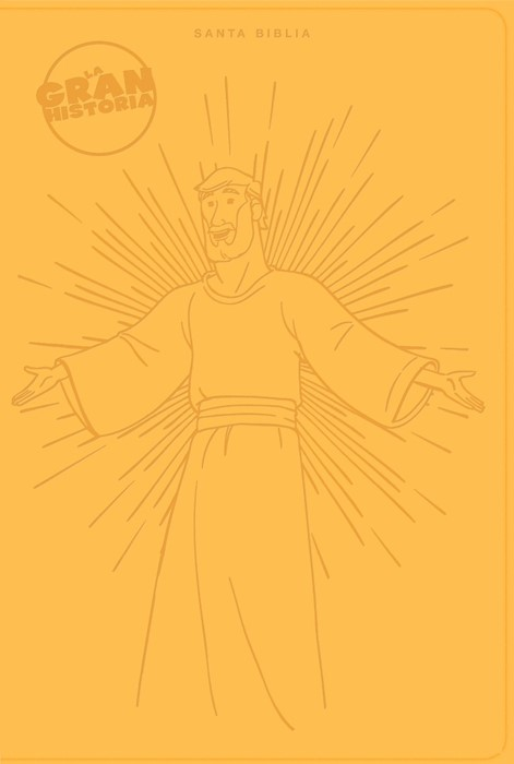 NTV La Gran Historia: Biblia Interactiva, amarillo símil pie (Imitation Leather)