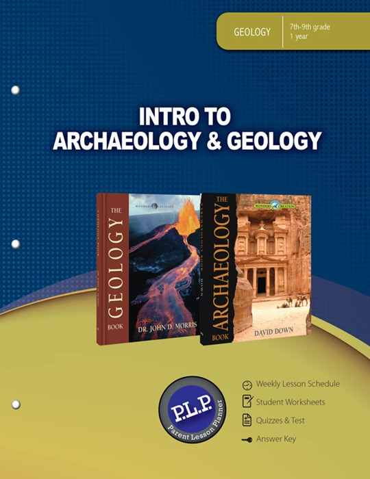 Intro To Archaeology & Geology Parent Lesson Planner (Paperback)