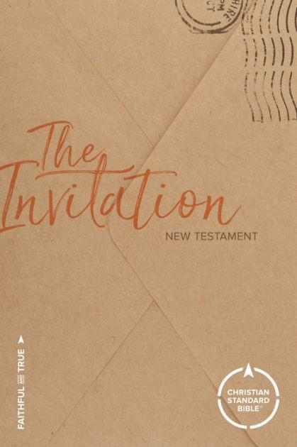CSB The Invitation New Testament (Paperback)