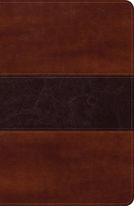 Biblia Peshitta, caoba duotono símil piel (Imitation Leather)