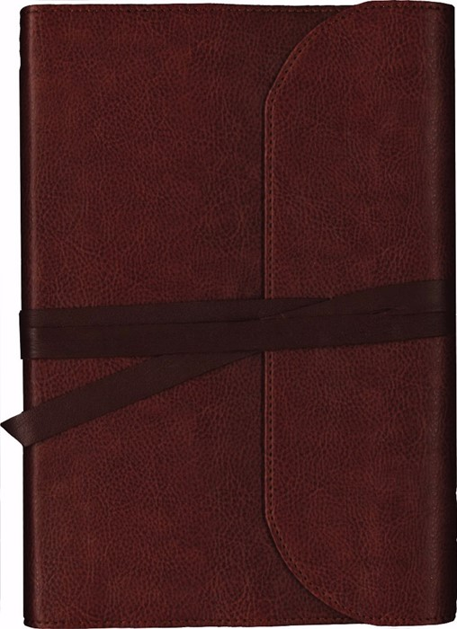 KJV Journal the Word Bible Large Print Premium Leather (Leather Binding)