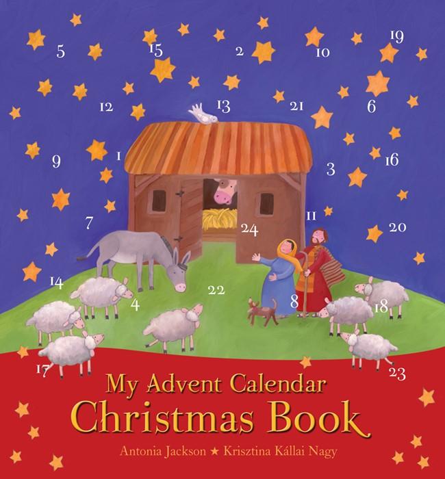 My Advent Calendar Christmas Book (Hard Cover)