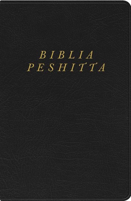 Biblia Peshitta, negro imitación piel (Imitation Leather)