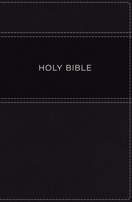 KJV Apply the Word Study Bible Large Print, Black (Imitation Leather)