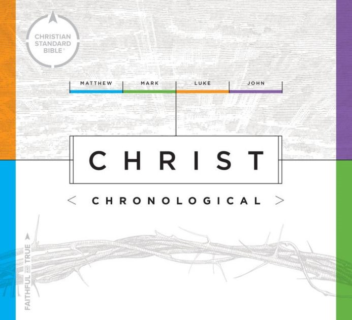 CSB Christ Chronological (Hard Cover)