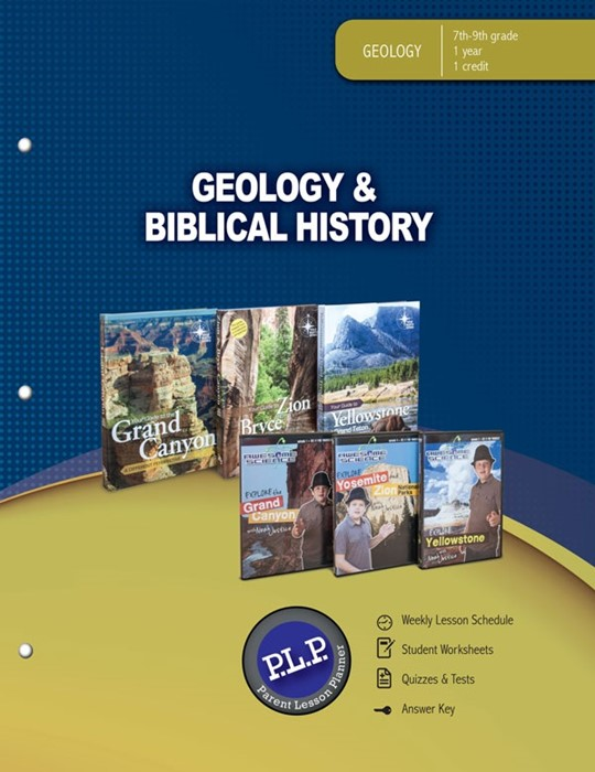 Geology & Biblical History Parent Lesson Planner (Paperback)