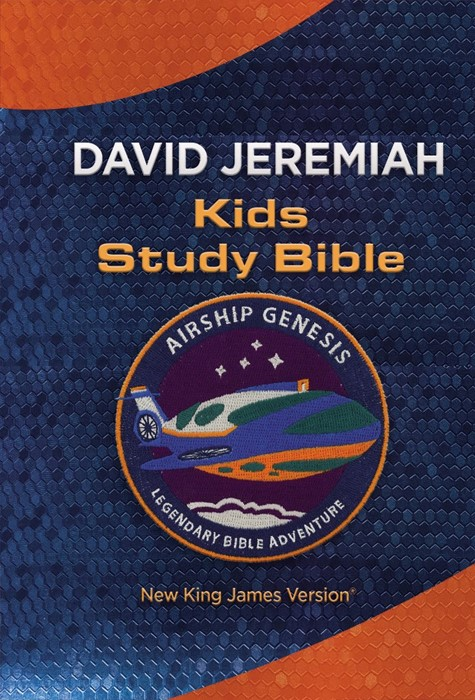 NKJV Airship Genesis Kids Study Bible TechTile Leather (Imitation Leather)