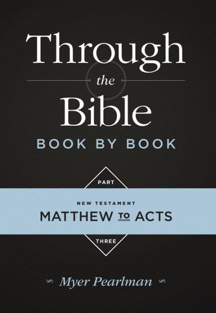 Through the Bible Book by Book Part Three (Paperback)