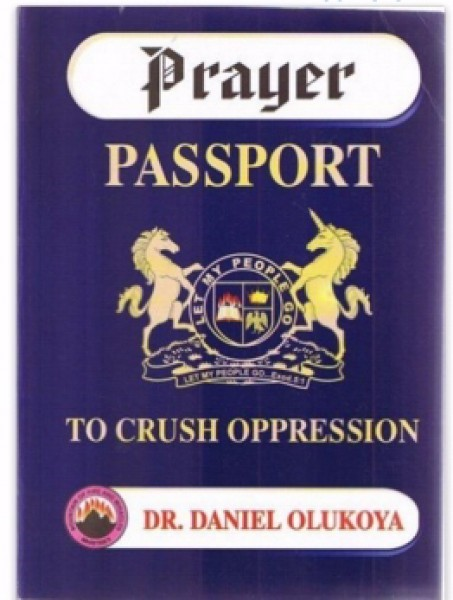 Prayer Passport: To Crush Oppression (Bonded Leather)
