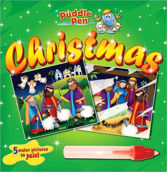 Puddle Pen Christmas (Board Book)