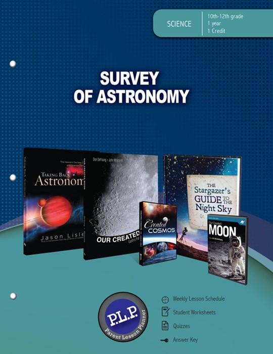 Survey Of Astronomy Parent Lesson Planner (Paperback)