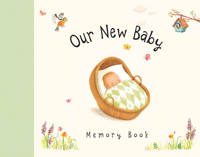 Our New Baby Memory Book (Hard Cover)
