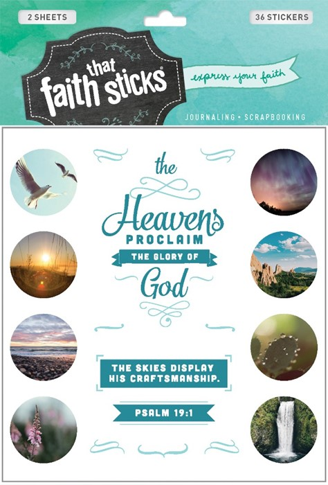 Psalm 19:1 (Stickers)