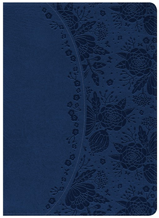 NKJV Holman Study Bible, Indigo Leathertouch, Indexed (Imitation Leather)
