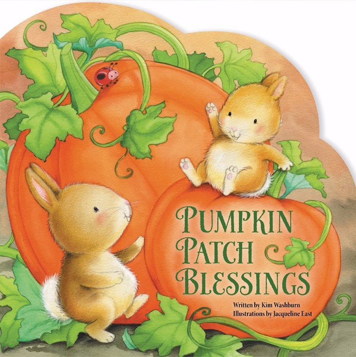 Pumpkin Patch Blessings (Board Book)