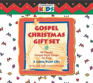 Cedarmont Kids: Gospel Christmas Gift Set (Triple Cd Set) Cd (CD- Audio)