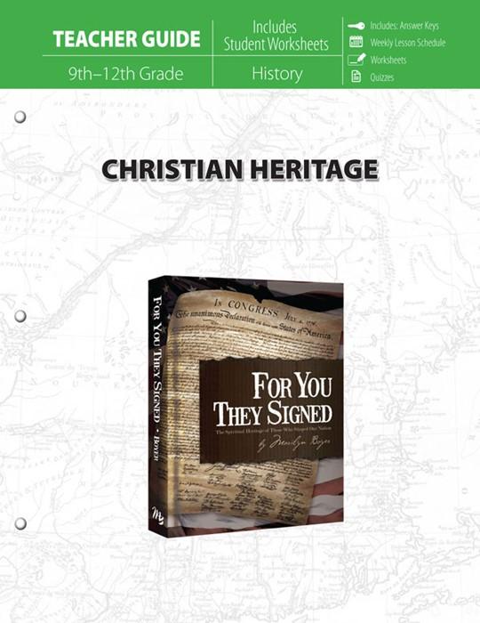 Christian Heritage Teacher Guide (Paperback)