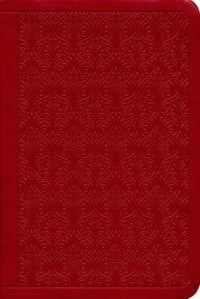 ESV Value Compact Bible Trutone, Ruby, Vine Design (Imitation Leather)