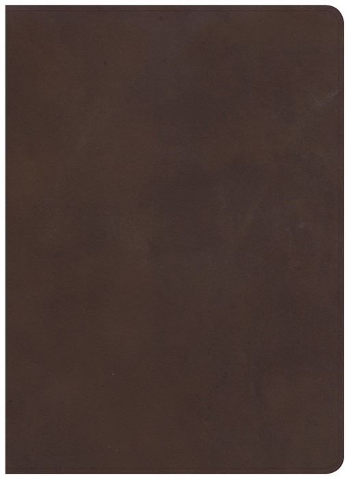 CSB Study Bible, Brown Genuine Leather (Leather Binding)