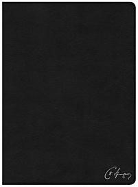 CSB Spurgeon Study Bible, Black Genuine Leather, Indexed (Leather Binding)