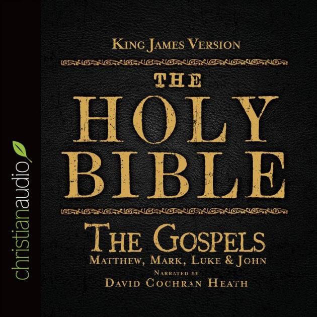 KJV Holy Bible Audio CD: The Gospels (CD-Audio)