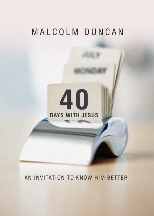 40 Days With Jesus (Hard Cover)