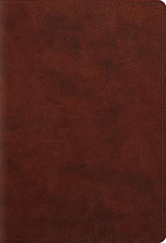 ESV Student Study Bible Trutone, Chestnut (Imitation Leather)